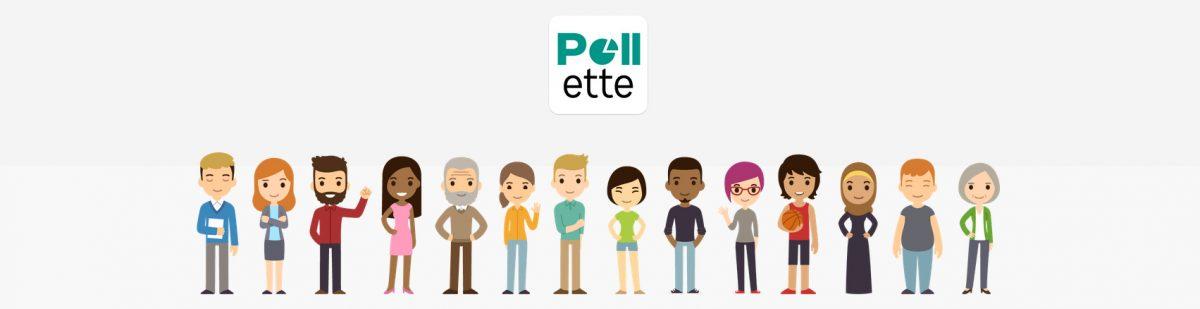 #apps : découvrez pollette, le sondage du 21ème siècle !