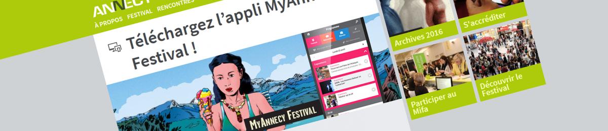 #apps : téléchargez l'appli MyAnnecy festival