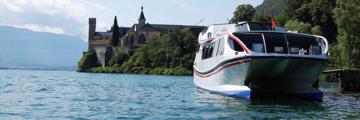 #opensource : Les bateaux du lac du Bourget avec Odoo