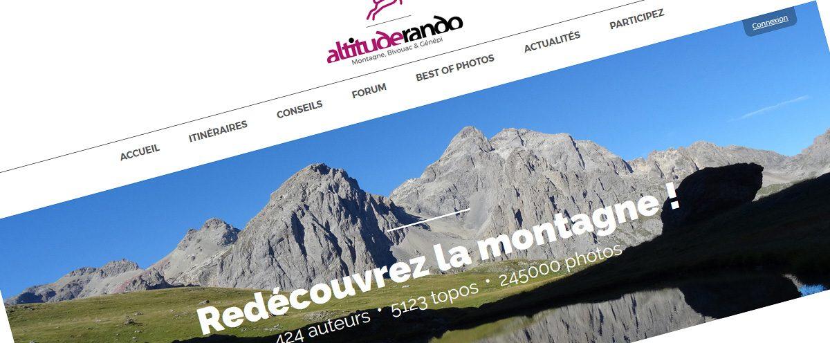 #rando : découvrez la nouvelle version d'Altituderando