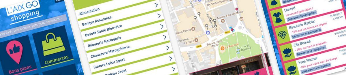 #apps : découvrez Aix Go Shopping, l'appli bons plans des commerces Aixois