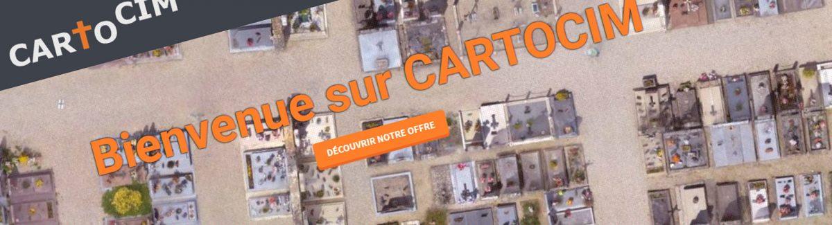 #drones : Cartocim, la cartographie de cimetières
