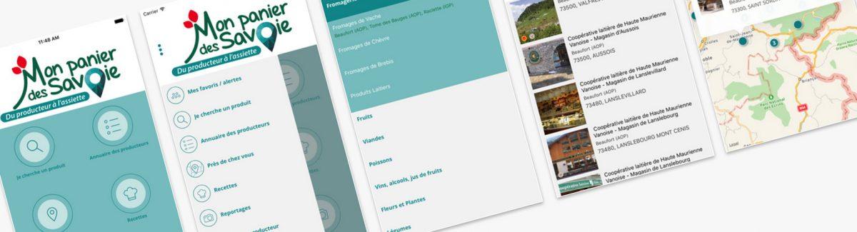 #app : une application pour consommer local
