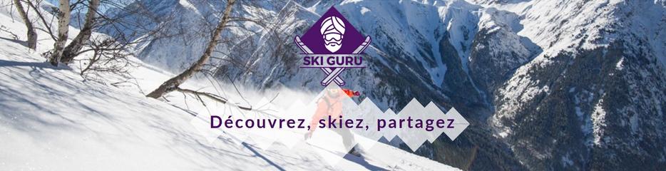#siteweb : SkiGuru, le site d'avis des stations préférées des skieurs !