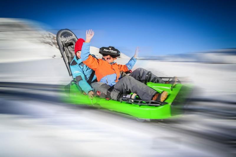 #VR : L'Alpe d'Huez et sa piste de luge en réalité virtuelle
