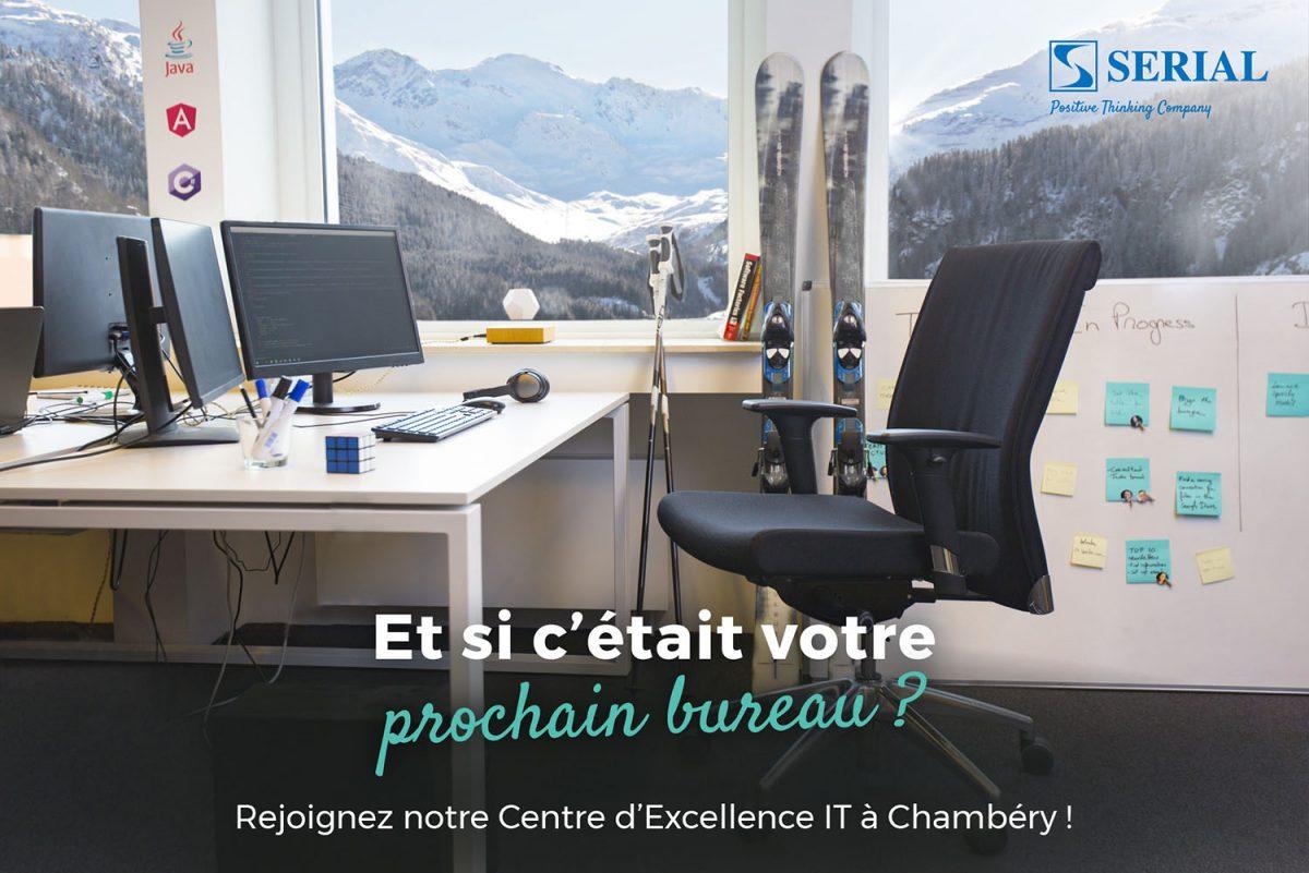 #focusJob : Serial recrute un max de profils Tech à Chambéry