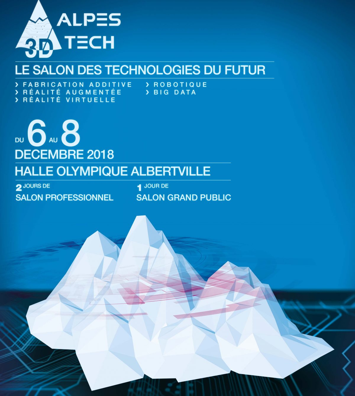 #3D : Salon Alpes 3D Tech à Albertville