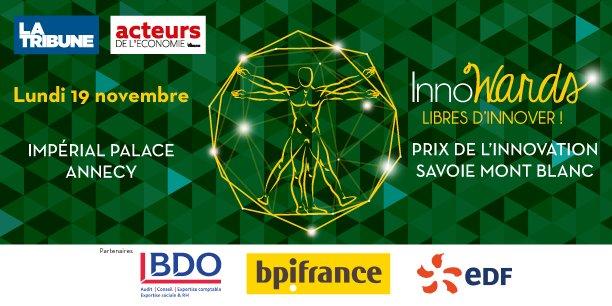 #InnoWards2018 : Prix de l'Innovation Édition Savoie Mont Blanc