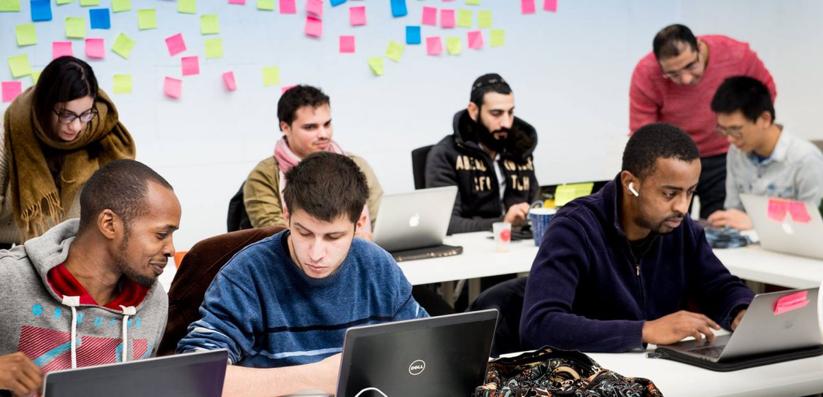 #formation : Chambé-Carnet parrain de la première promo développeur Simplon