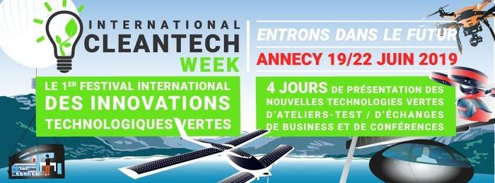 #environnement : International Clean Tech Week à Annecy